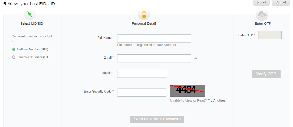 How To Find Aadhar Card Number Online